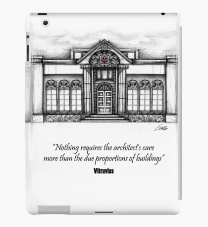 Architecture Elevation iPad Case/Skin
