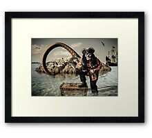 Pirate Booty Framed Print