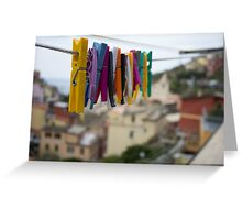 The Colorful Chore Greeting Card