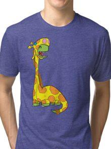 Bronto-raffe Tri-blend T-Shirt