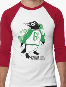 One Cool Penguin Men's Baseball ¾ T-Shirt