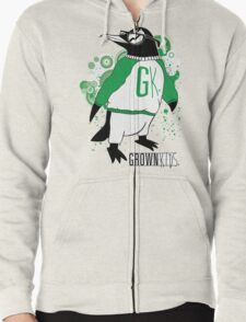 One Cool Penguin Zipped Hoodie