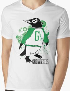 One Cool Penguin Mens V-Neck T-Shirt