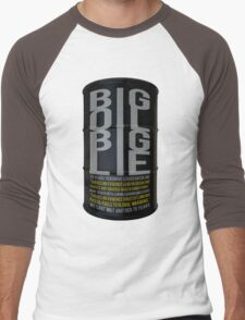 Big Oil Big Lie - Lies about Lead took 75 years to resolve! Men's Baseball ¾ T-Shirt