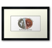 Superior Beings Framed Print