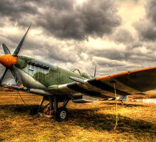 The Spitfire - Historic Warplane by Ken Chambers