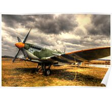 The Spitfire - Historic Warplane Poster