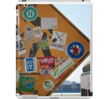 Signs and Stickers iPad Case/Skin
