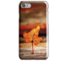 Standing Leaf iPhone Case/Skin
