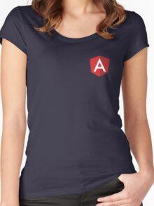 Angular  Women's Fitted Scoop T-Shirt