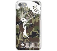 The Cool Army Penguin iPhone Case/Skin