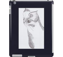Cat (ink) iPad Case/Skin