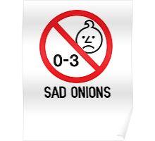 Ashens - 0-3 Sad Onions Poster
