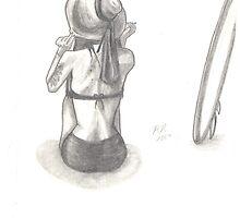 Sketch of Charmaine by Randi Nuanes