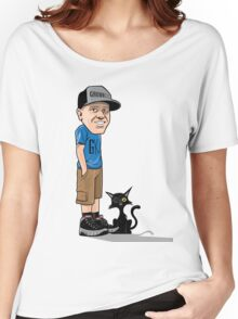 J's and a One eyed kitty Women's Relaxed Fit T-Shirt