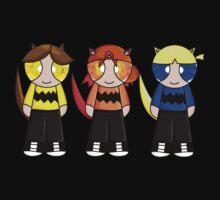Cat Rowdyruff boys team! One Piece - Short Sleeve