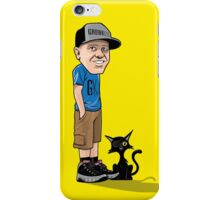 J's and a One eyed kitty iPhone Case/Skin