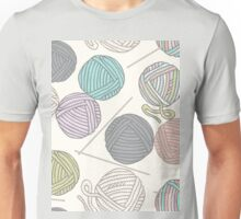 Balls of yarn pattern Unisex T-Shirt