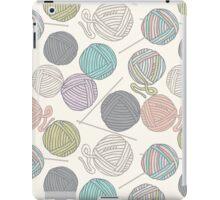 Balls of yarn pattern iPad Case/Skin