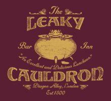 The Leaky Cauldron Bar & Inn by Artpunk101