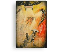 See Hear Speak no Evil Painting by Artist Ekaterina Chernova Canvas Print