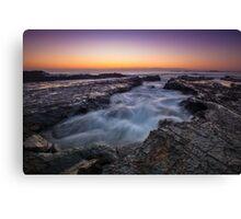 Currumbin Rocks, Gold Coast Canvas Print