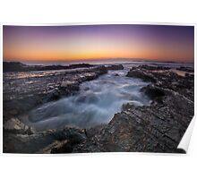 Currumbin Rocks, Gold Coast Poster