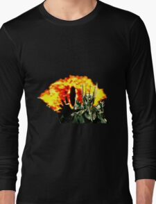 16-Bit Sauron & Eye of Sauron Long Sleeve T-Shirt