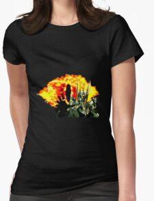16-Bit Sauron & Eye of Sauron Womens Fitted T-Shirt