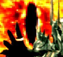 16-Bit Sauron & Eye of Sauron Sticker