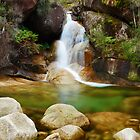 Ladies Bath Falls, Mount Buffalo, Victoria, Australia by Michael Boniwell
