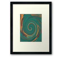 Black Maple Spiral Galaxy  Framed Print