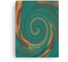 Black Maple Spiral Galaxy  Canvas Print