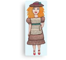 Gloria Doll  Canvas Print