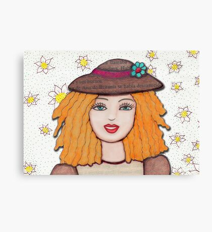Gloria Doll, Lovely blonde doll  Canvas Print
