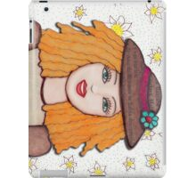 Gloria Doll, Lovely blonde doll  iPad Case/Skin