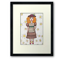 Gloria Doll to Length  Framed Print