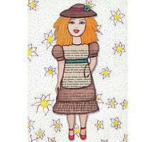 Gloria Doll to Length  Photographic Print
