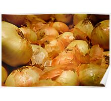 Yellow Onions Poster