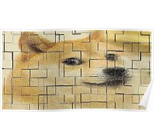 Doge Poster Tile Wow Poster
