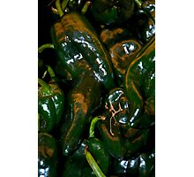 Pasilla Chiles Photographic Print