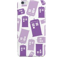 Tardis Color of the Year iPhone Case/Skin