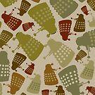 Doctor Who - Mini DALEK Camouflage by kinxx