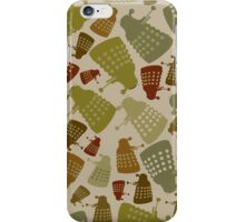 Doctor Who - Mini DALEK Camouflage iPhone Case/Skin
