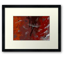 excorcizing ghosts Framed Print