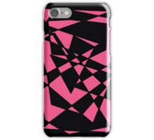 Pink/Black Abstract Phone Case iPhone Case/Skin