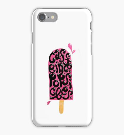 Caffeine Popsicles iPhone Case/Skin