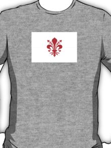 Flag of Florence, Italy T-Shirt