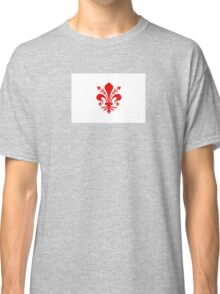 Flag of Florence, Italy Classic T-Shirt