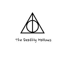 The Deathly Hallows iPhone Case by AlanaDZ